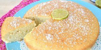 Gâteau au lait de coco et citron vert au Thermomix
