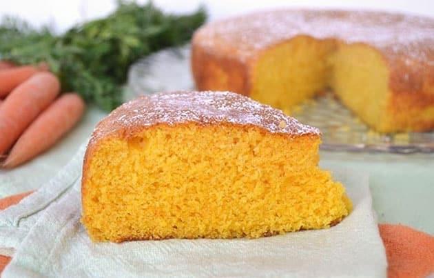 Gâteau aux carottes avec Thermomix