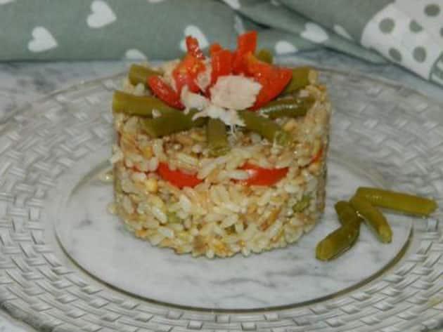 Riz au thon et aux légumes WW