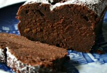 cake fondant au chocolat avec Thermomix