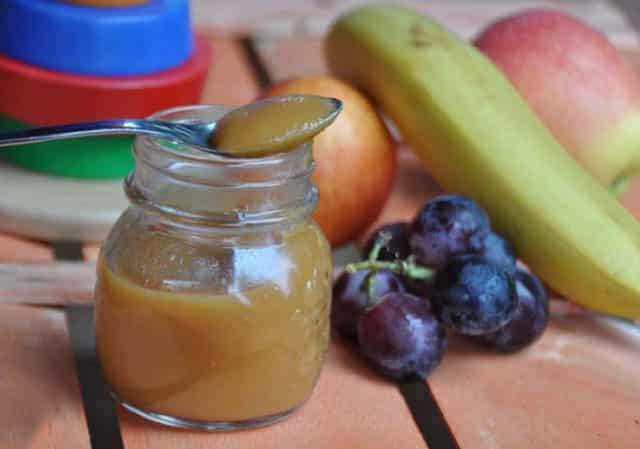 Compote de fruits et de carottes sans sucre au Thermomix