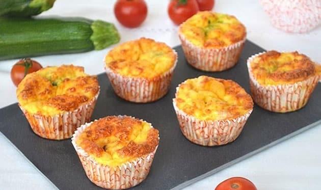 muffins aux légumes à 0 SP