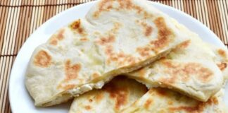 Naans au fromage avec Thermomix