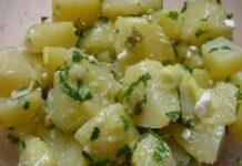 salade de pommes de terre au Thermomix
