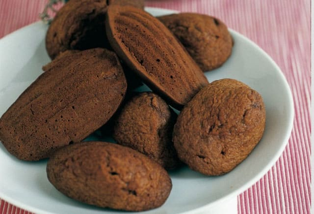 Madeleines au cacao avec Thermomix