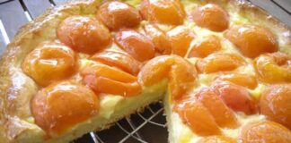 Tarte briochée aux abricots au Thermomix
