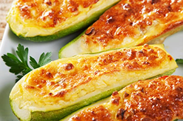 courgettes farcies gourmandes WW