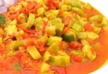 curry de courgettes WW