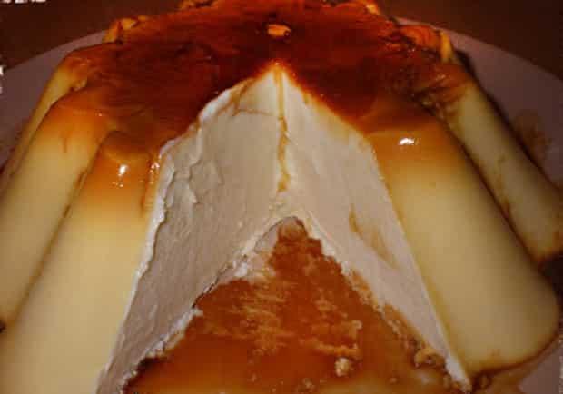Crème Caramel au Mascarpone avec Thermomix