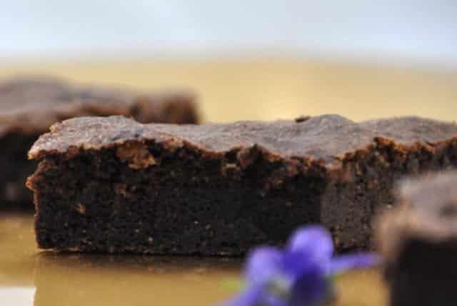gâteau au chocolat sans beurre ni farine WW