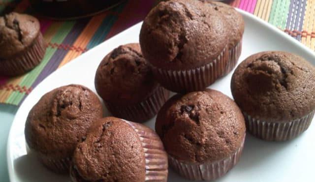 muffins léger au chocolat et banane ww
