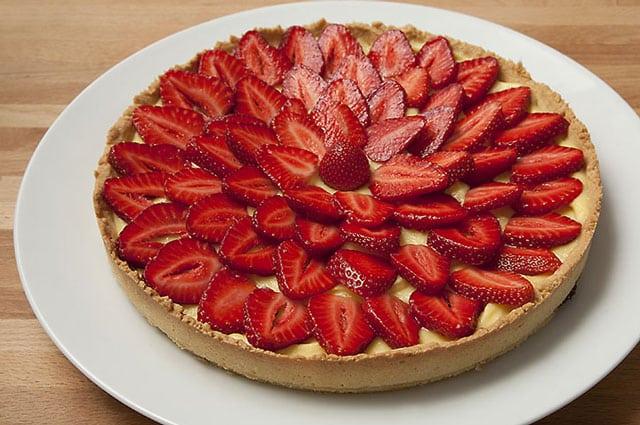 tarte aux fraises avec Thermomix