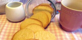 Biscuits légers ww