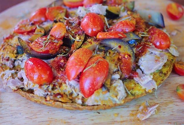 Pizza légère ww