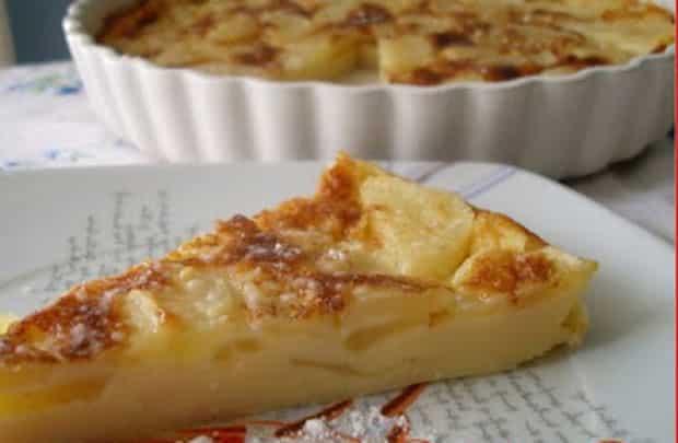 clafoutis aux pommes caramélisées WW, un délicieux clafoutis léger et fruité, bien gourmand, facile et simple à réaliser pour un dessert à déguster sans culpabilité.