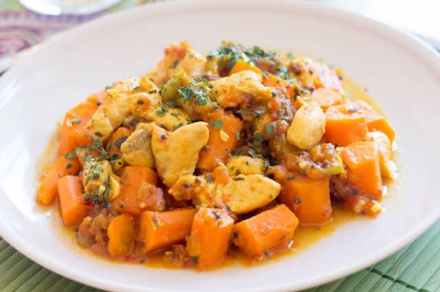 Curry de Poulet aux Carottes WW