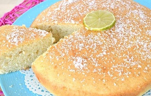 gâteau léger à la noix de coco WW