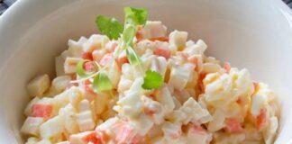 salade de surimi au Thermomix