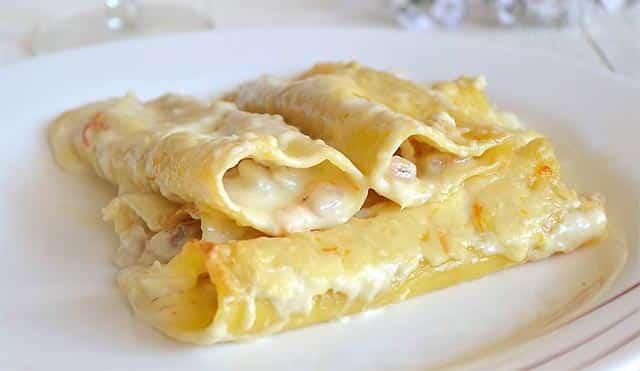Cannellonis de poisson