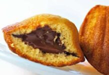 Madeleines au nutella avec Thermomix