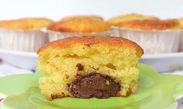 Muffins au Yaourt et Nutella au Thermomix