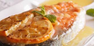 Saumon à la Sauce aux Agrumes au Thermomix
