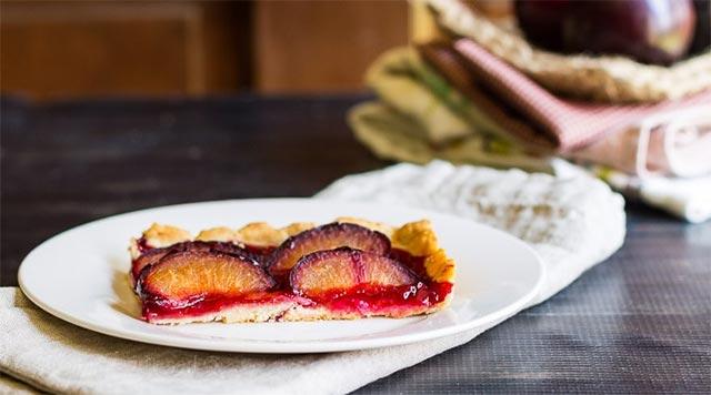 Tarte aux prunes avec Thermomix