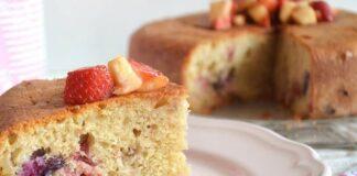 gâteau aux fruits au Thermomix