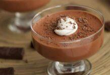 Mousse au chocolat sans œuf ni beurre avec Thermomix