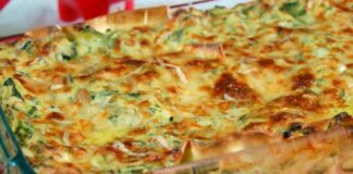 lasagnes aux courgettes et chèvre frais WW
