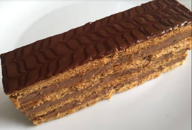 mille feuille chocolat au thermomix
