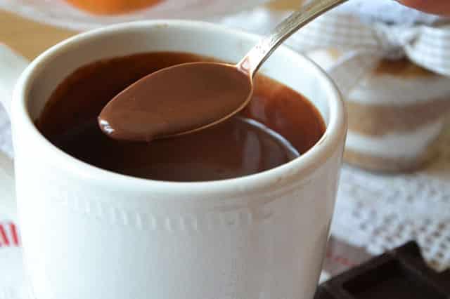 chocolat chaud à 3 SP