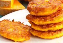 galettes de citrouille au parmesan WW