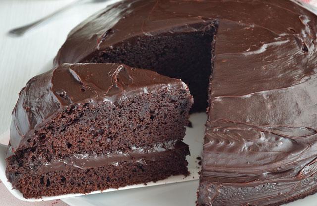 gâteau au chocolat avec ganache au Thermomix