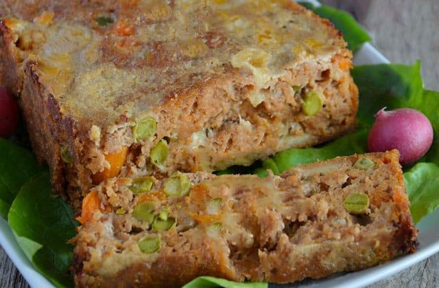 pain de viande aux légumes WW