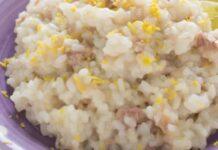 risotto au thon et au citron WW