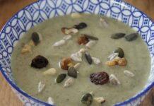 velouté d'automne aux courgettes et champignons WW