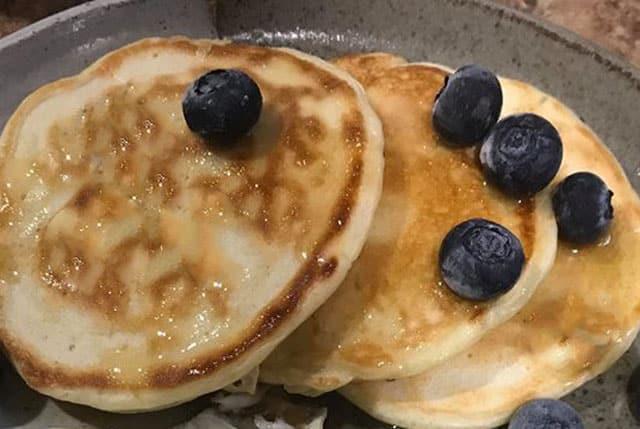 Pancakes légers au Yaourt à 1 SP