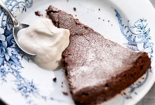 Fondant au Chocolat et au Fromage Blanc WW