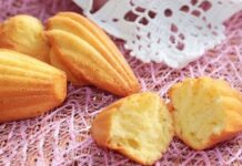 madeleines inratables au Thermomix