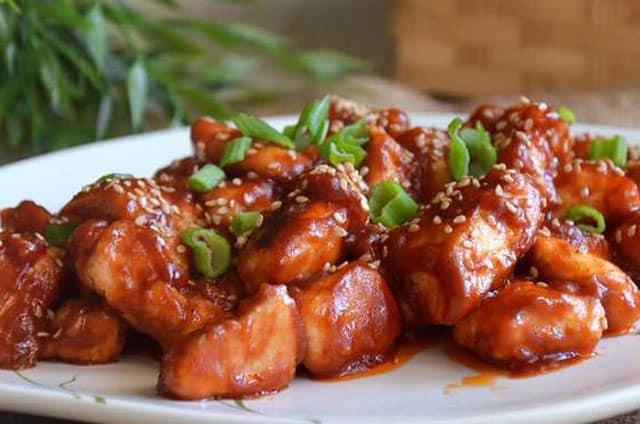 poulet à la sauce aigre-douce WW