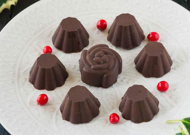 Chocolats Fourrés à la Confiture au Thermomix