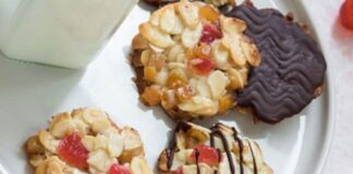 Biscuits Florentins de Noël au Thermomix