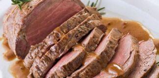 Rôti de Veau à la Sauce aux Légumes au Thermomix