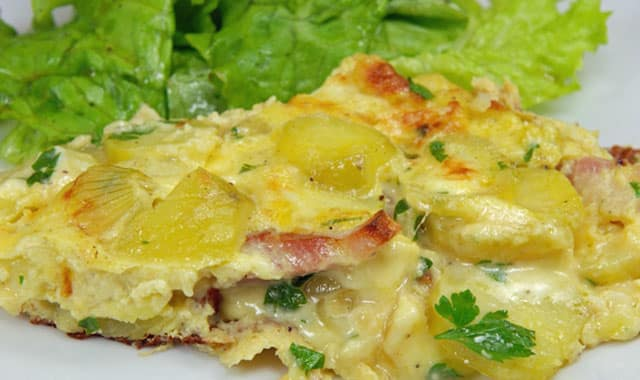 tortilla légère savoyarde WW