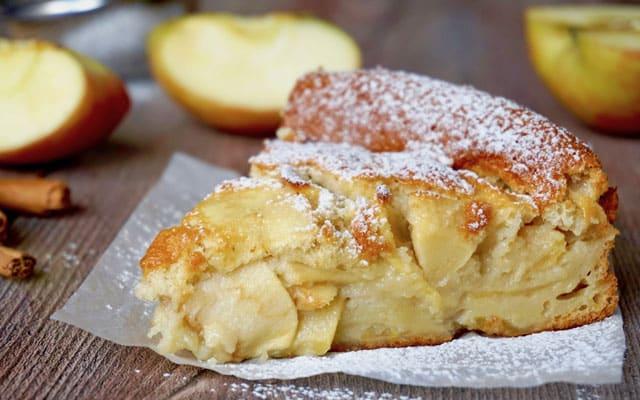 gâteau invisible léger aux pommes WW