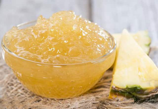 Confiture d'Ananas au Gingembre au Thermomix