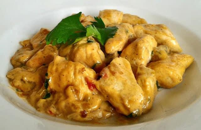 Curry de Poulet au Yaourt WW