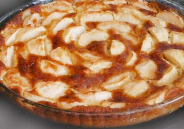 Tarte aux Pommes Sans Pâte au Thermomix