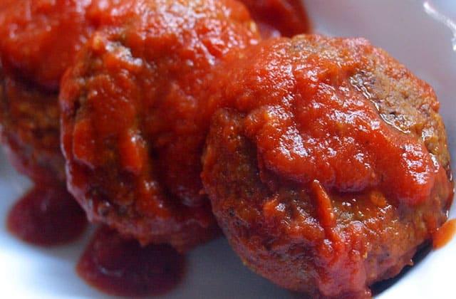 boulettes de lentilles à la sauce tomate au Thermomix